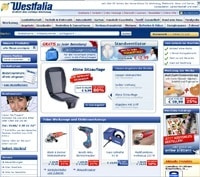 Westfalia-Homepage
