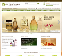 Yves Rocher-Homepage