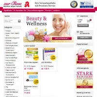 Zur Rose-Homepage