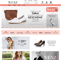 Wenz-Homepage