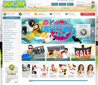 Racheshop-Homepage