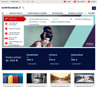 Air France-Screenshot