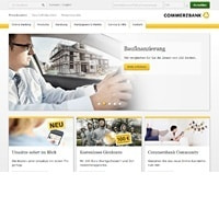 Commerzbank-Homepage