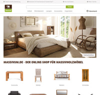 Massivum-Homepage
