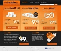 callmobile-Homepage
