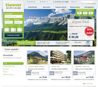 Tiscover-Homepage