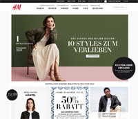 H&M-Homepage