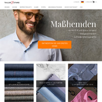 Tailor Store-Homepage
