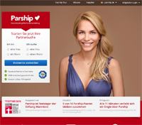 Parship-Homepage