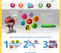 My M&Ms-Homepage