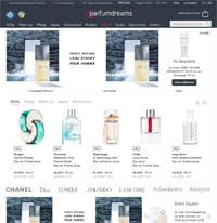 Parfumdreams-Homepage