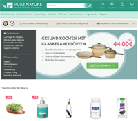 PureNature-Homepage