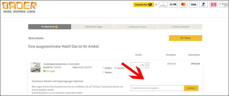 Bader gutschein 10 rabatt weitere gutscheincodes for Gutschein bader