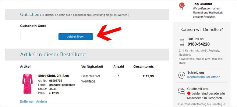 lowest price 85162 6eebc bonprix Gutscheine: 5,99€ + 60% einlösbar im Okt. 2019