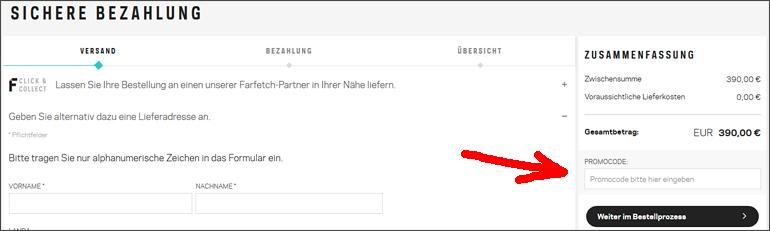 Farfetch gutscheincode 2019