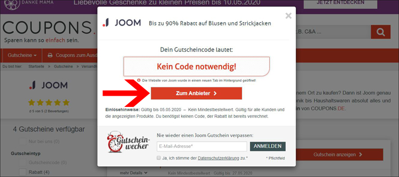 Gutscheincode 26 Sendmoments
