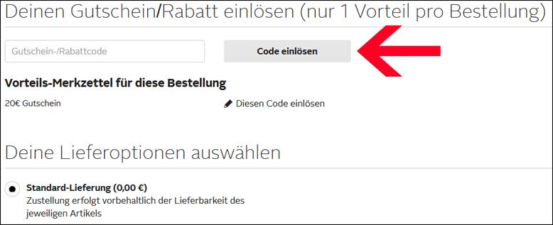 Otto Newsletter Gutschein Code