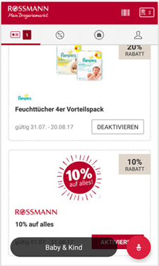 rossmann coupons online