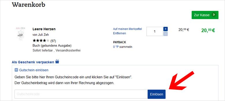 Thalia Gutschein 17%