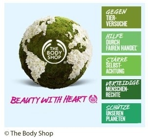 The Body Shop Aktion