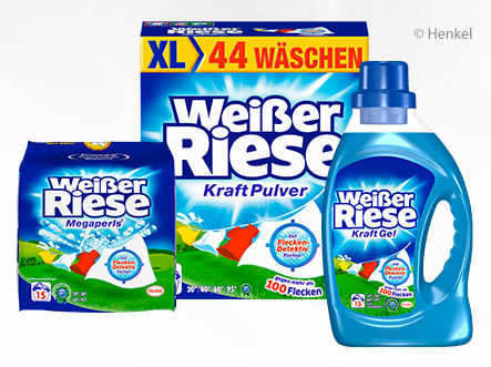 Coupon Weißer Riese