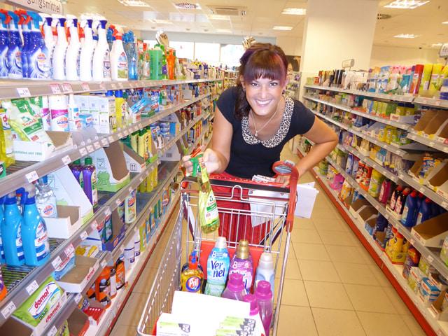 mit coupons einkaufen gehen